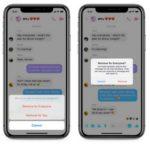 Messenger: Διαθέσιμο το Unsend