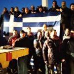 Αφέθηκαν ελεύθεροι οι 36 συλληφθέντες που ύψωσαν τον σταυρό στην Απελή