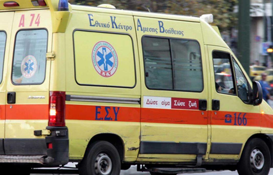 Μια γυναίκα έπεσε από μεγάλο ύψος επί της οδού Ευτυχίδου 24 στο Παγκράτι