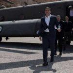 Απίστευτη πρόκληση: Τούρκικα μαχητικά παρενόχλησαν το ελικόπτερο του Τσίπρα