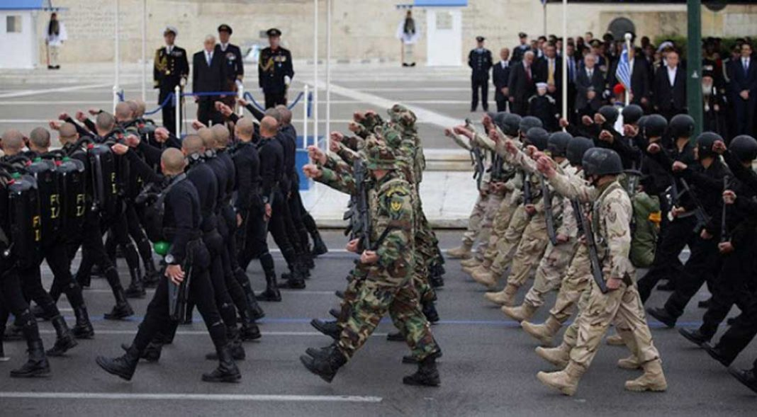 Υπό τους ήχους -και- του «Μακεδονία ξακουστή» θα πραγματοποιηθεί η στρατιωτική παρέλαση στην Αθήνα, παρέλαση