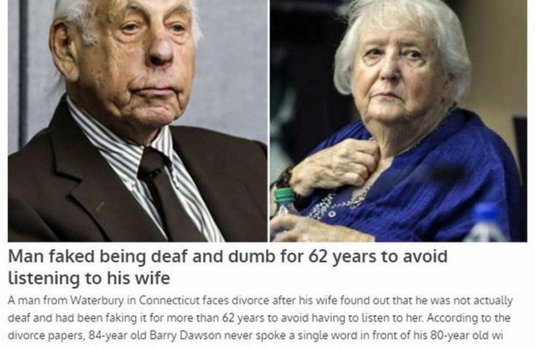 γκρίνια Παρίστανε τον κουφό για... 62 χρόνια για να γλιτώσει