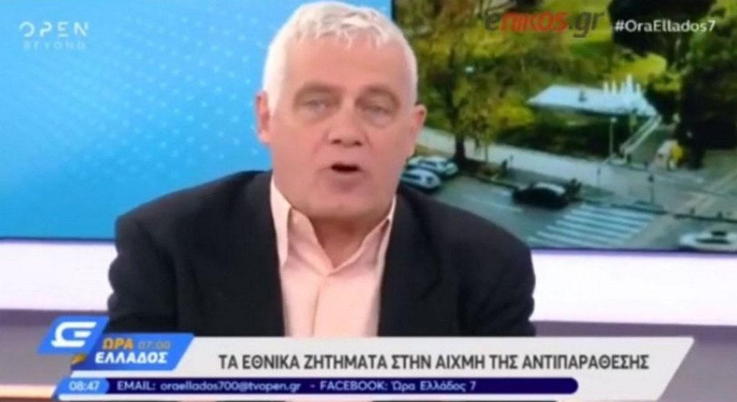 ο κ. Τσιρώνης, «το ελληνικό, ελληνικότατο Καστελόριζο δεν είναι στο Αιγαίο. Γεωγραφικά δεν είναι στο Αιγαίο τι να κάνουμε τώρα