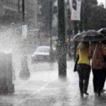 ΕΜΥ-Βροχές και καταιγίδες τη Δευτέρα