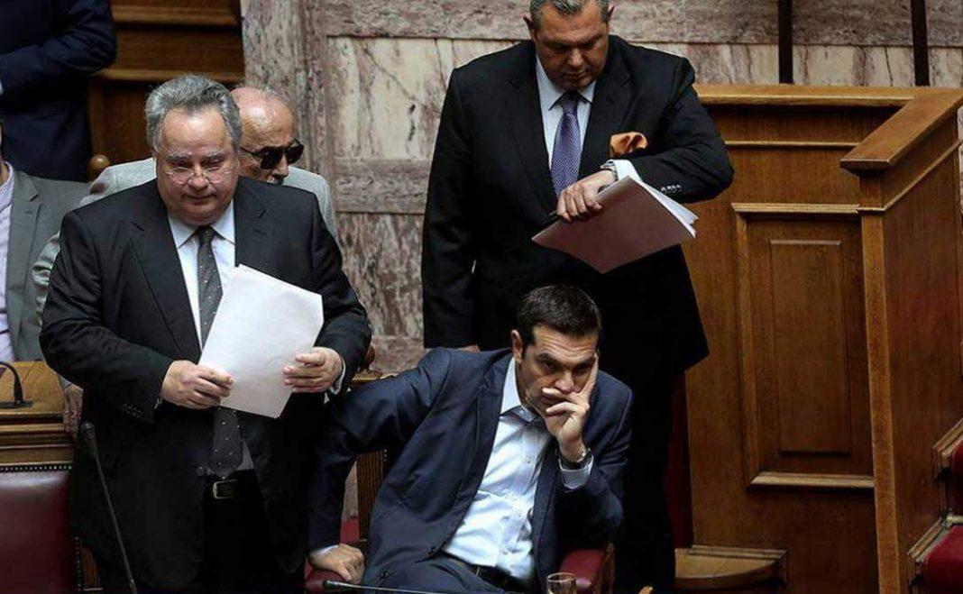 Μέσω Twitter σχολίασε ο πρόεδρος των Ανεξάρτητων Ελλήνων Πάνος Καμμένος τα στοιχεία του exit poll.