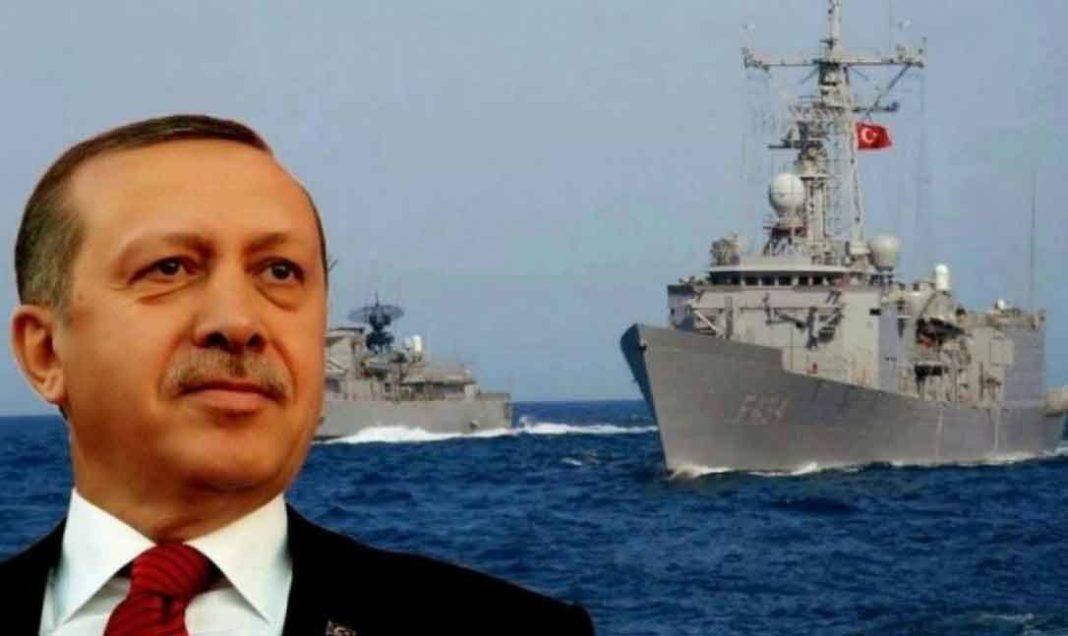 Πολεμικό μήνυμα Ερντογάν: «Το Ναυτικό και η Αεροπορία μας έχουν πάρει θέσεις στην ανατολική Μεσόγειο»