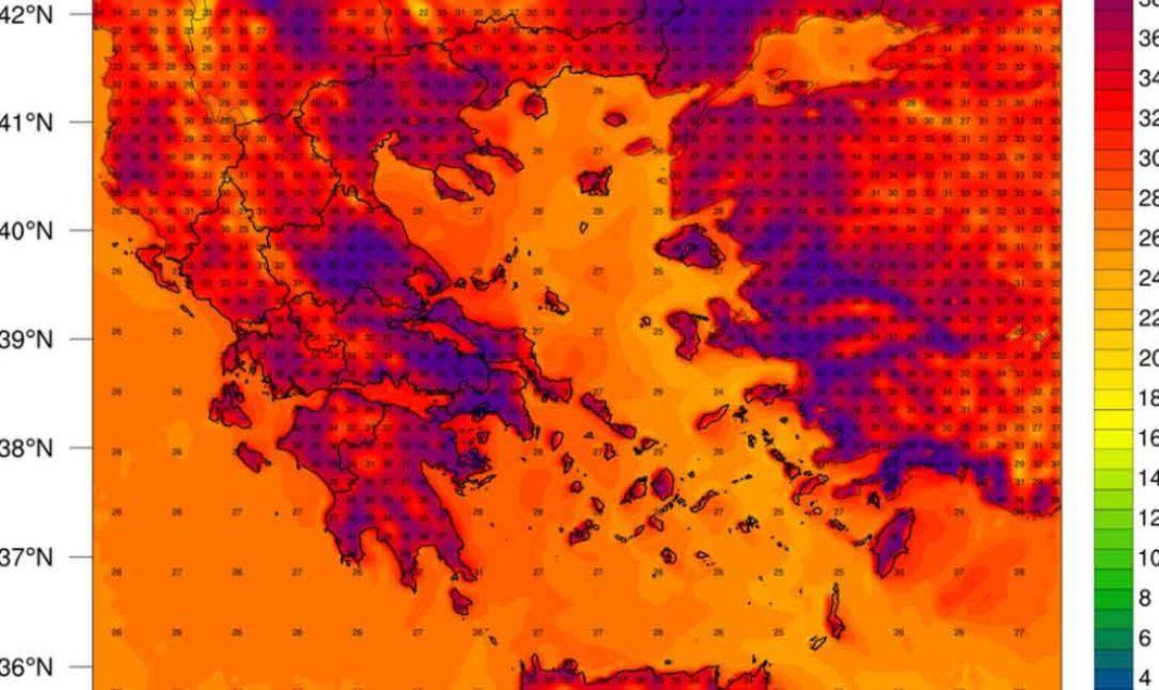 Καιρός: Έρχεται καύσωνας με 45άρια στην Ελλάδα