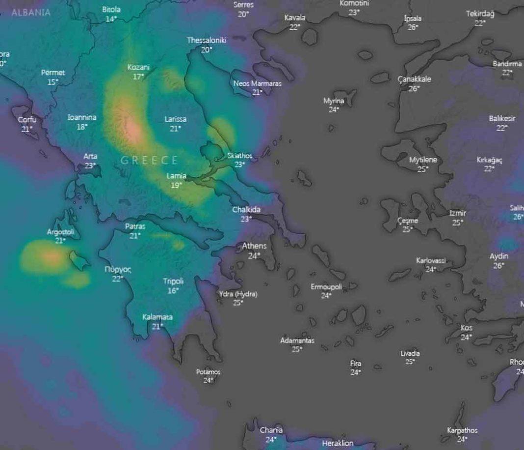 Η επέλαση της κακοκαιρίας: Άνοιξαν οι ουρανοί - Live πώς κινείται το μέτωπο
