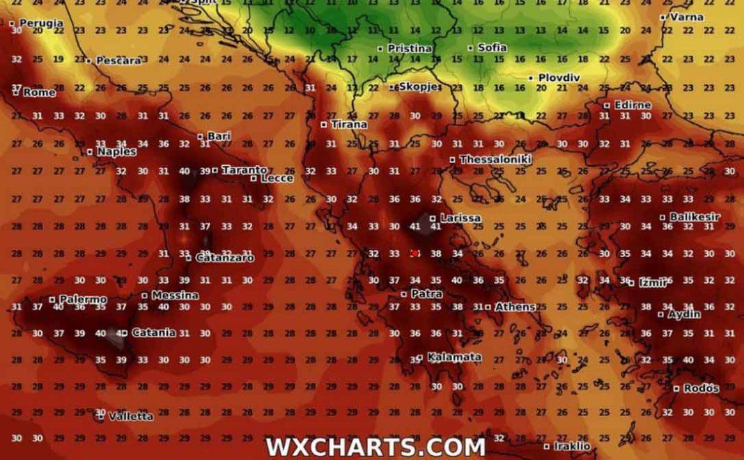 καύσωνας Δείτε καρέ - καρέ τον ερχομό του νέου καύσωνα στην Ελλάδα, που αν και αρχικά αναμενόταν από τη Δευτέρα, φαίνεται -όπως είπε και ο Τάσος