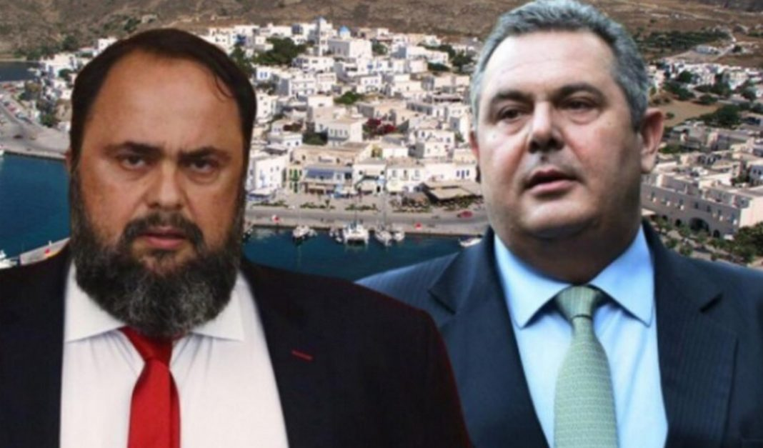 Η Εισαγγελία Σύρου εξέδωσε εντάλματα σύλληψης τόσο κατά του Βαγγέλη Μαρινάκη όσο και του Πάνου Καμμένου μετά το «θερμό επεισόδιο» της Πέμπτης