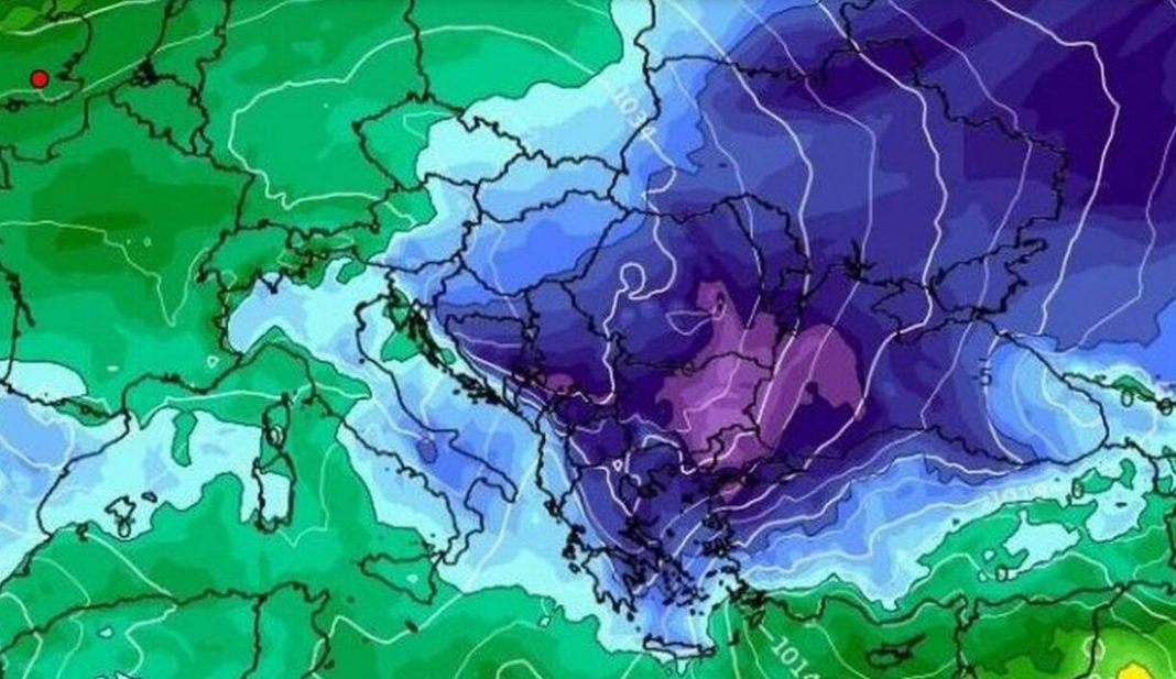 Ένα νέο ισχυρό κύμα χιονιά θα «χτυπήσει» αρκετές περιοχές της χώρας μας, σύμφωνα με τον μετεωρολόγο Κλέαρχο Μαρουσάκη.