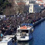 Στην Αθήνα μεταφέρονται οι διαμαρτυρίες για το μεταναστευτικό