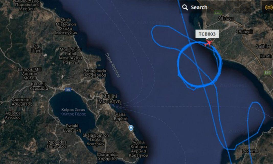 Η Αθήνα έστελνε ΜΑΤ και οχήματα στη Μυτιλήνη και οι Τούρκοι σήκωσαν UAV καταγράφοντας τα πάντα….