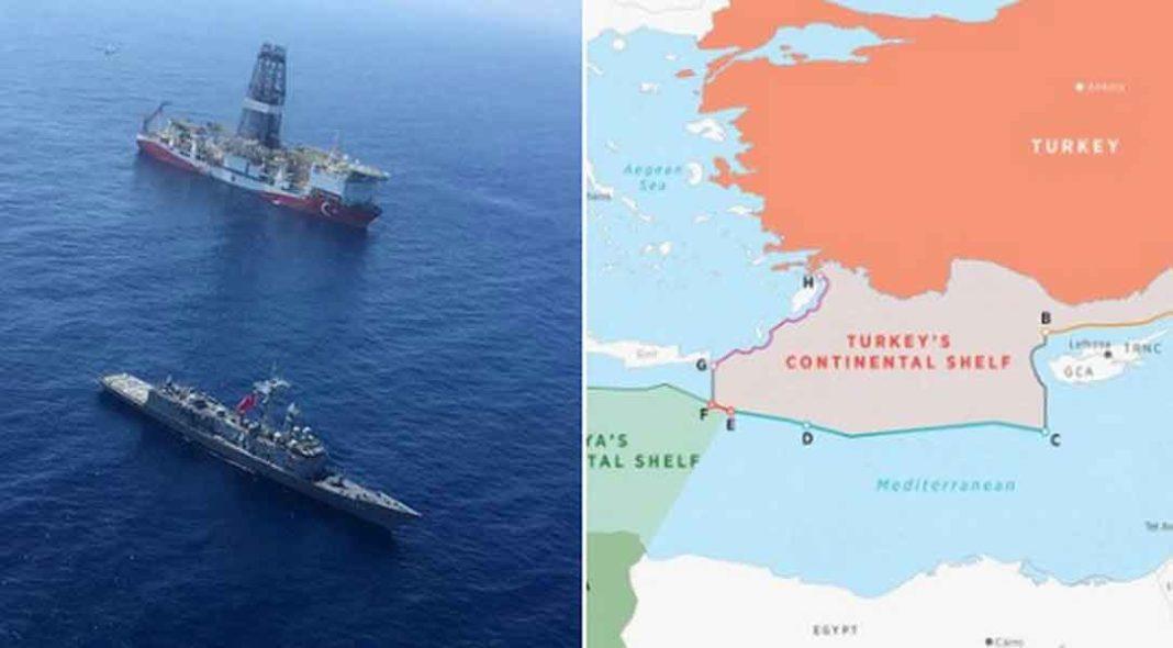 ΕΚΤΑΚΤΟ: Η Τουρκία ανακοίνωσε «εισβολή» στην ελληνική υφαλοκρηπίδα