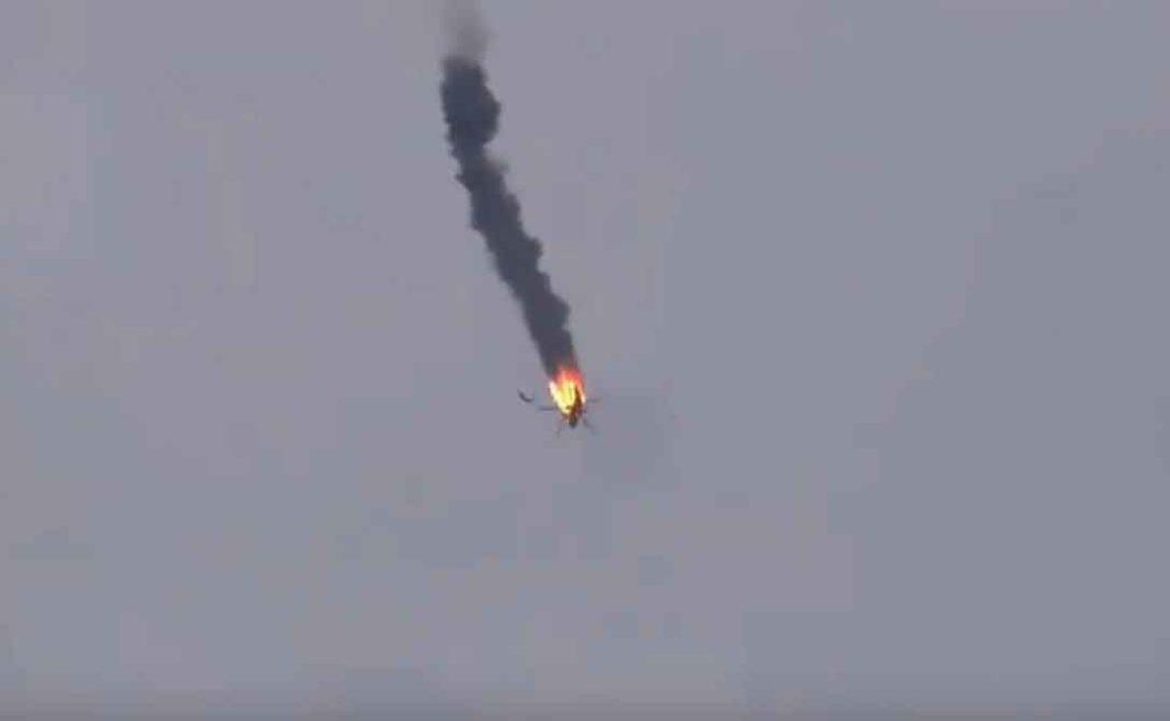 Σύροι αντάρτες που στηρίζονται από την Τουρκία κατέρριψαν ένα ελικόπτερο που πιστεύεται ότι ανήκει στις ένοπλες δυνάμεις της Συρίας στην πόλη Ναϊράμπ της επαρχίας Ιντλίμπ...