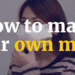 Ελλείψεις σε μάσκες; Φτιάξε μόνος σου (βίντεο)