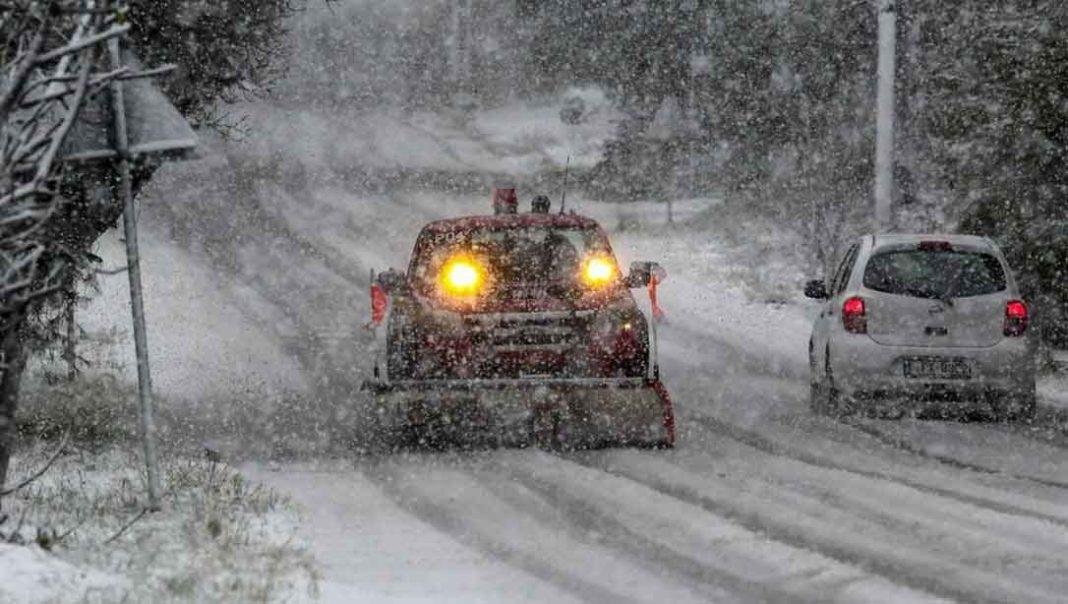 ΕΜΥ - Έκτακτο δελτίο για πυκνές χιονοπτώσεις και ισχυρό παγετό