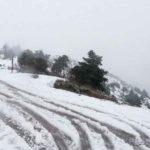 Σε κλοιό χιονιά η Αττική - Έντονα φαινόμενα τις επόμενες ώρες