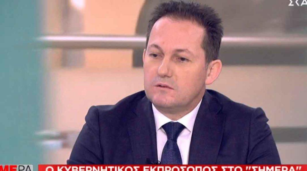 Γραφικό και επικίνδυνο, με τα χειρότερα χαρακτηριστικά ενός Έλληνα, χαρακτήρισε ο κυβερνητικός εκπρόσωπος Στέλιος Πέτσας τον κ. Μουτζούρη με αφορμή την απρεπή