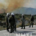 Πόλεμος σε Μυτιλήνη και Χίο: Σοβαρά επεισόδια - 51 τραυματίες, οι 2 σοβαρά