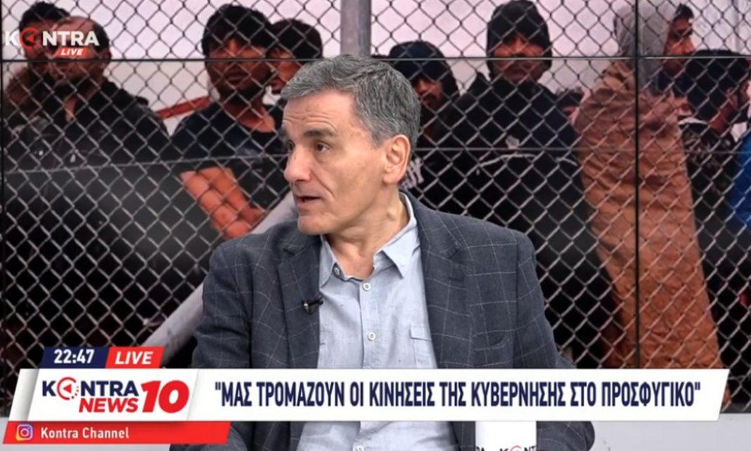 Μιλώντας στο κεντρικό δελτίο ειδήσεων του Kontra Channel, ο βουλευτής του ΣΥΡΙΖΑ και πρώην Υπουργός Οικονομικών, Ευκλείδης Τσακαλώτος