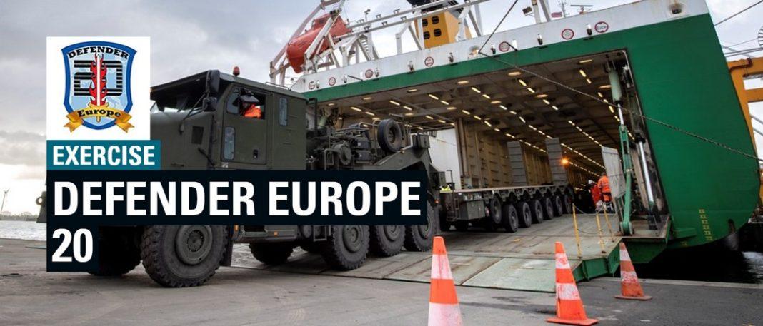 Defender Europe 20, μια κολοσσιαία άσκηση που καθορίζεται από τον ίδιο, θα ξεκινήσει στις αρχές Απριλίου. Ο αμερικανικός στρατός ως η μεγαλύτερη ανάπτυξη αμερικανικών