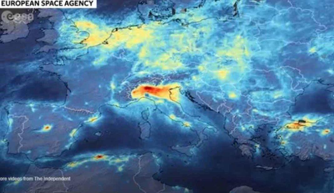 Βόρεια Ιταλία: O κορονοϊός εξαφάνισε την ατμοσφαιρική ρύπανση