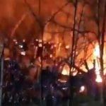 Καστανιές : Σε αυξημένη ετοιμότητα-Λαθρομετανάστες άναψαν φωτιά στα τουρκικά σύνορα, πίσω από τον φράχτη (βίντεο)