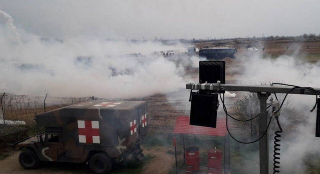 Νέα επεισόδια σημειώθηκαν στα ελληνοτουρκικά σύνορα στον Έβρο αργά το απόγευμα της Κυριακής.
