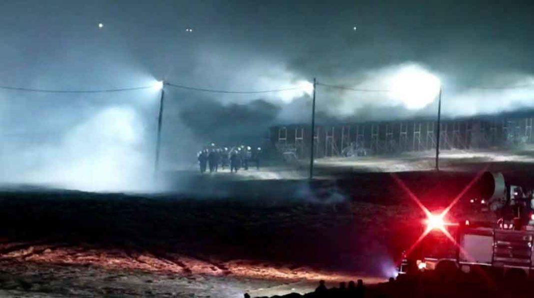 Νέα επεισόδια σημειώνονται το βράδυ της Τετάρτης (18/03) στον Έβρο