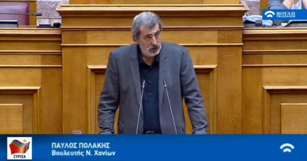 Στο ζήτημα του κορωνοϊού αναφέρθηκε ο πρώην αναπληρωτής υπουργός Υγείας Παύλος Πολάκης και εξαπέλυσε επίθεση κατά της Εκκλησίας