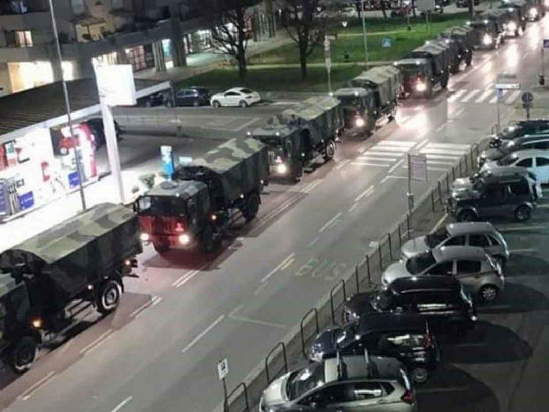 La Repubblica Τουλάχιστον 70 φορτηγά μετέφεραν πτώματα για αποτέφρωση σε άλλες περιοχές - Πόλη «φάντασμα» το Μπέργκαμο