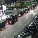 ΣΟΚ- Δημοσίευμα της la Repubblica δείχνει 70 φορτηγά να μεταφέρουν  σωρούς για αποτέφρωση..