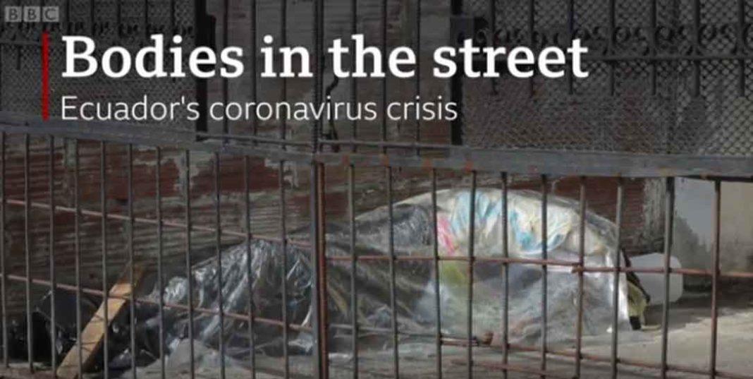 Εικόνες φρίκης εκτυλίσσονται στην πόλη Γουαγιακίλ του Ισημερινού, με την αστυνομία και τον στρατό να μαζεύουν 700 πτώματα ανθρώπων