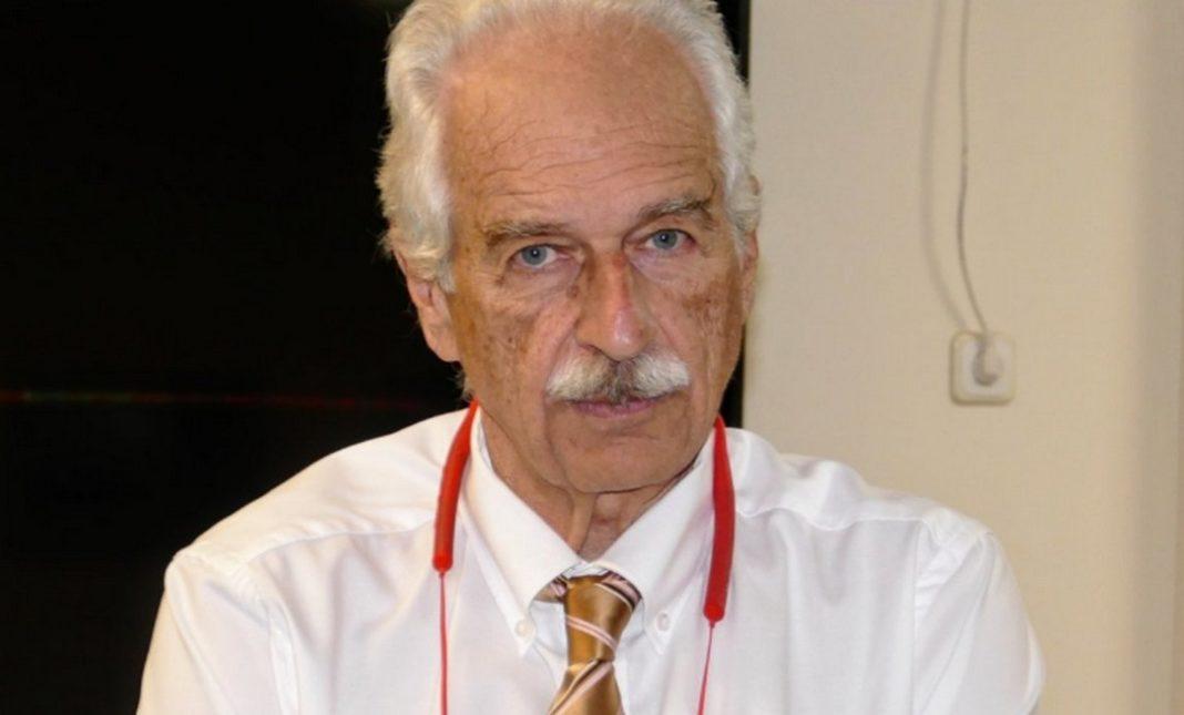 ο Κώστας Γουργουλιάνης καθηγητής Πνευμονολογίας του Τμήματος Ιατρικής του Πανεπιστημίου Θεσσαλίας και διευθυντής της Πνευμονολογικής Κλινικής του Πανεπιστημιακού