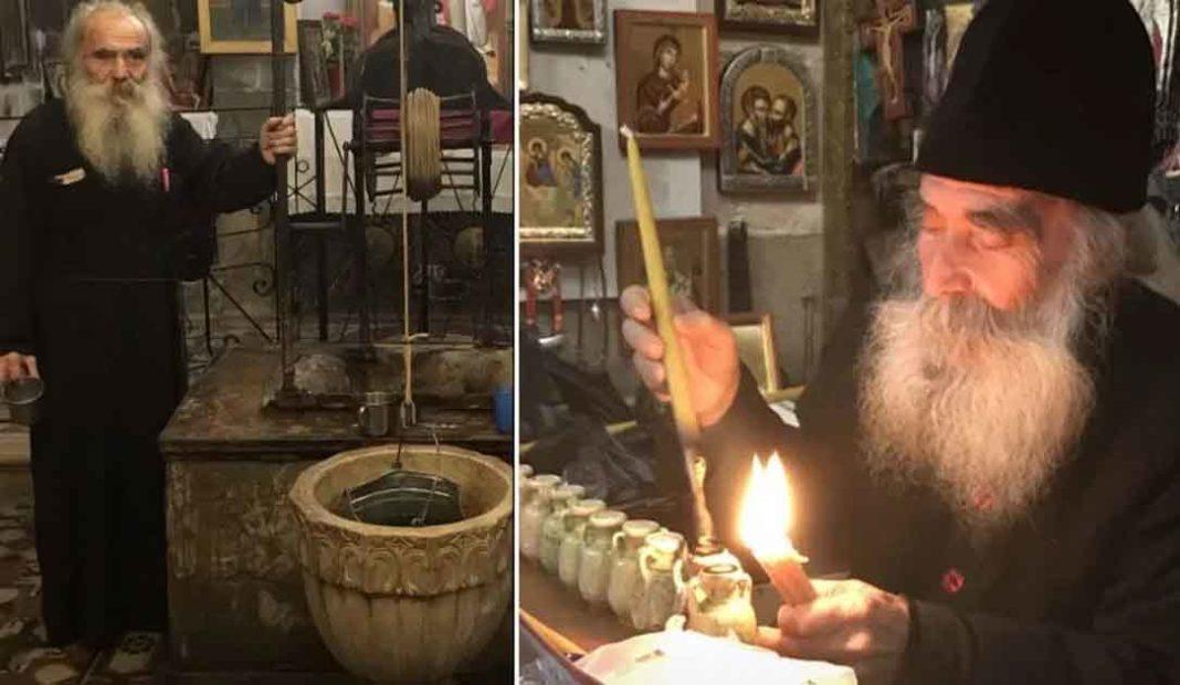 Ο γέροντας Ιουστίνος στέλνει μήνυμα εν όψει του Πάσχα στους απανταχού της γης Ορθοδόξους.