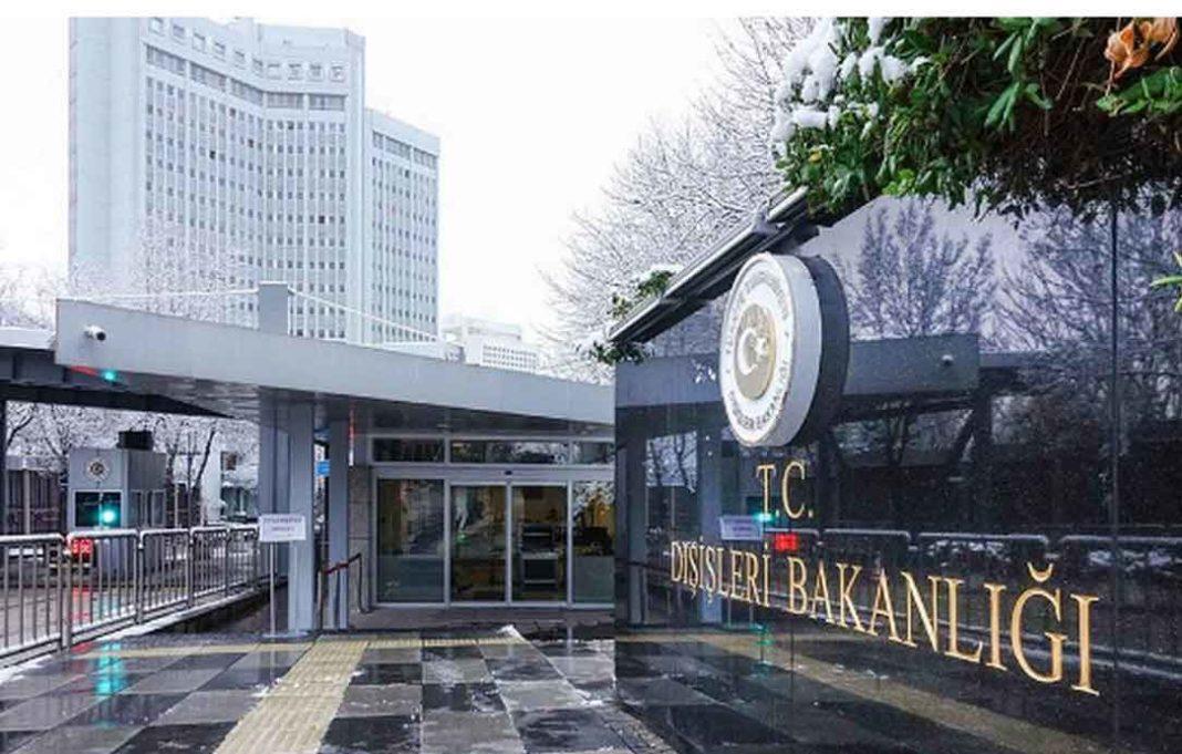 Τουρκικό ΥΠΕΞ Προκλητική ανακοίνωση εναντίον της Ελλάδας εξέδωσε το τουρκικό υπουργείο Εξωτερικών μία ημέρα μετά την επεισοδιακή υπουργική σύνοδο του ΝΑΤΟ