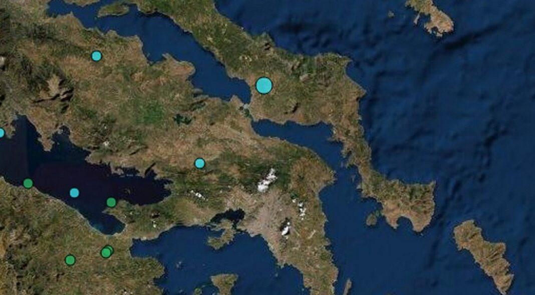 Σεισμός μεγέθους 3,1 Ρίχτερ σημειώθηκε πριν από λίγα λεπτά στη Χαλκίδα που έγινε αισθητός σε ορισμένες περιοχές της Αττικής.