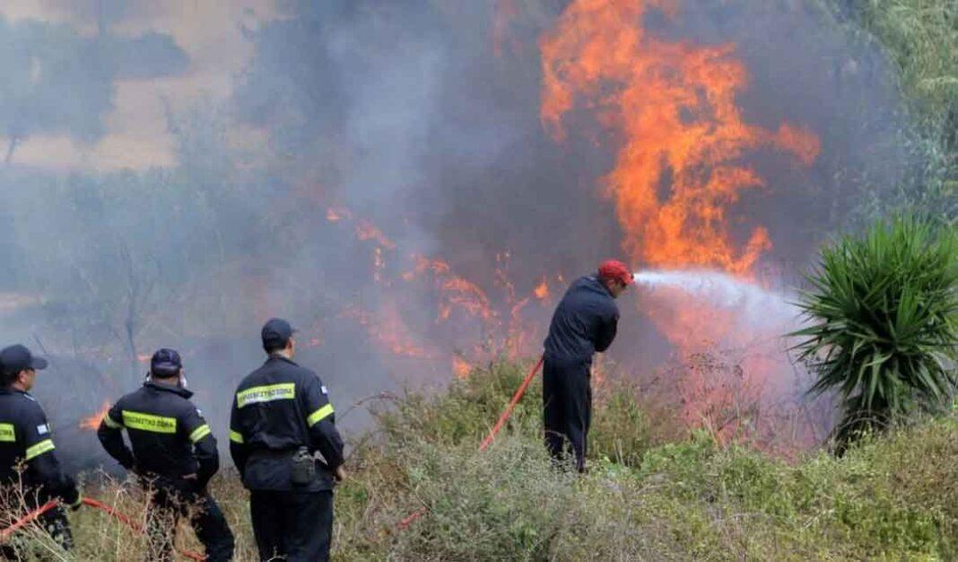 Επίδαυρο Ισχυρές δυνάμεις της πυροσβεστικής στο σημείο - Τι λέει ο δήμαρχος Επιδαύρου