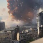 Καταστροφή στη Βηρυτό- Βίντεο σε Slow motion με το ωστικό κύμα να ισοπεδώνει τα πάντα
