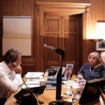 Με τηλέφωνο ασφαλείας από την αμερικανική πρεσβεία η συζήτηση Μητσοτάκη - Τραμπ (εικόνες)