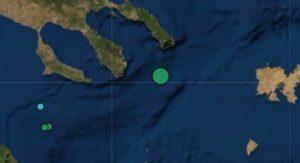 Σεισμός 4,4 Ρίχτερ ανοιχτά του Αγίου Όρους