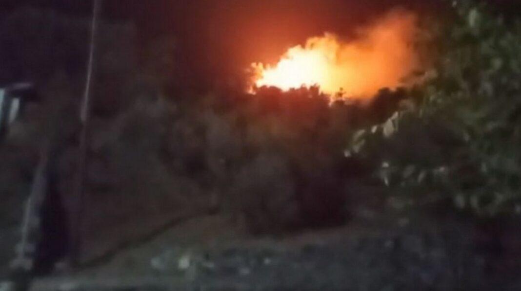 Φωτιά ΤΩΡΑ κοντά στο ΚΥΤ της Σάμου