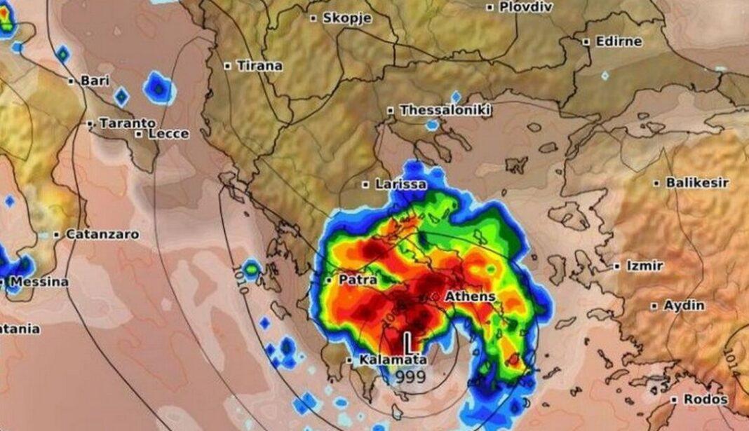 Κυκλώνας Ιανός: Πότε θα «χτυπήσει» την Αθήνα η έντονη κακοκαιρία (ΧΑΡΤΕΣ)