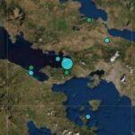 Σεισμός αισθητός στην Αττική - Το επίκεντρο στον Κορινθιακό κόλπο
