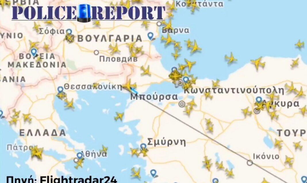 16 χιλιόμετρα εντός ελληνικού εδάφους, τουρκικό μη επανδρωμένο