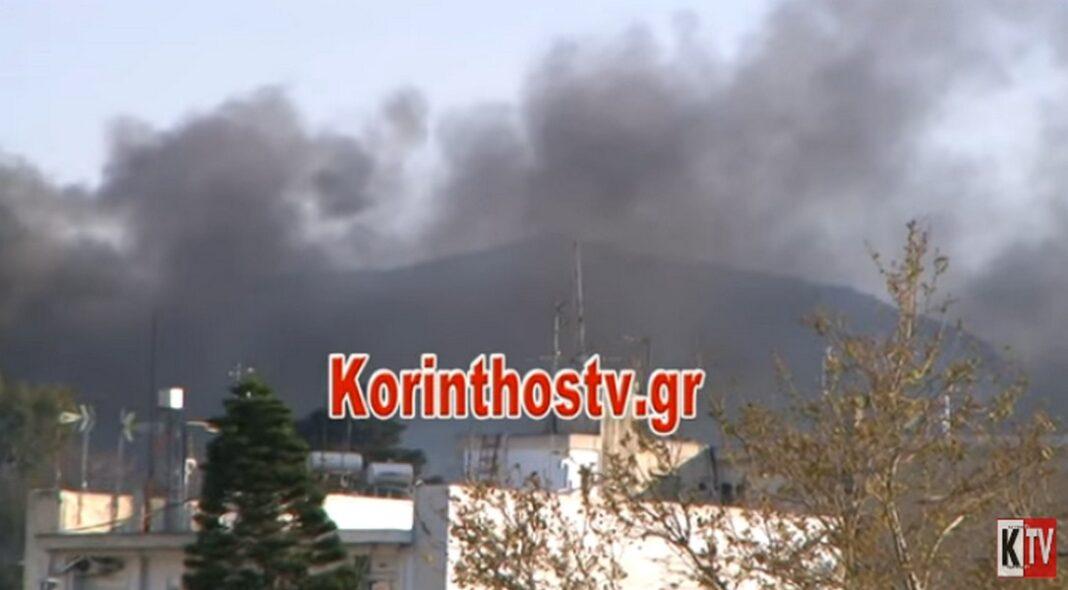 Κόρινθος: Εξέγερση στο ΠΡΟ.ΚΕ.ΚΑ με φωτιές και πετροπόλεμο – Πεδίο μάχης το σημείο (video)